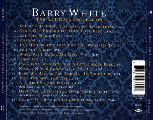Barry White Ultimate Collection: Partenaire Recherche Stickers Jeux