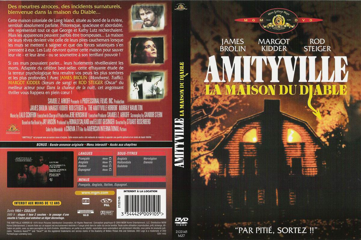 Zone 2 lettre a for Amityville la maison du diable streaming