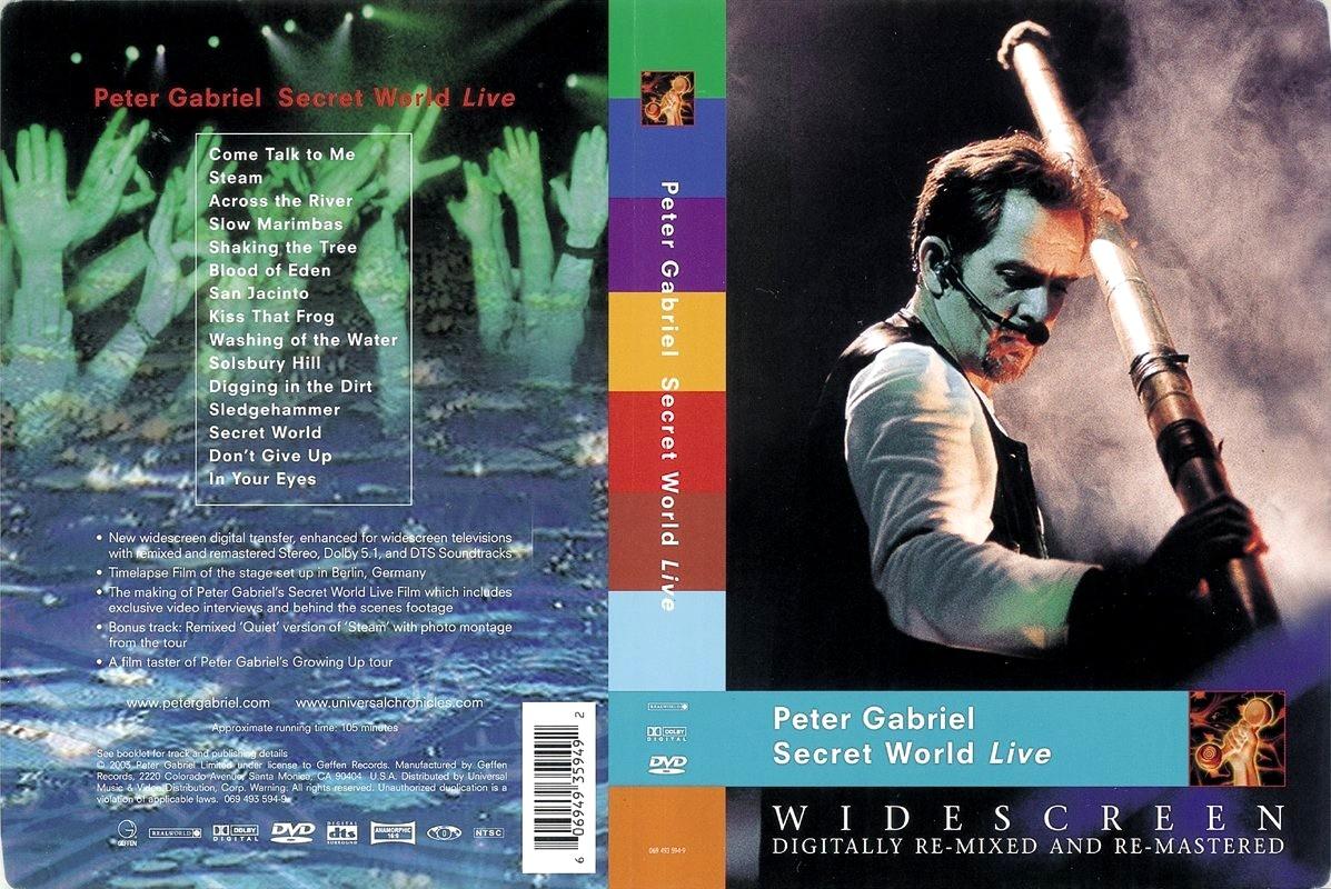 Peter gabriel secret world live cd