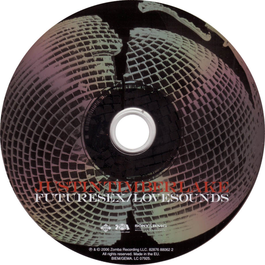 Futuresex Lovesounds Deluxe Version Justin Timberlake: Jaquette Audio
